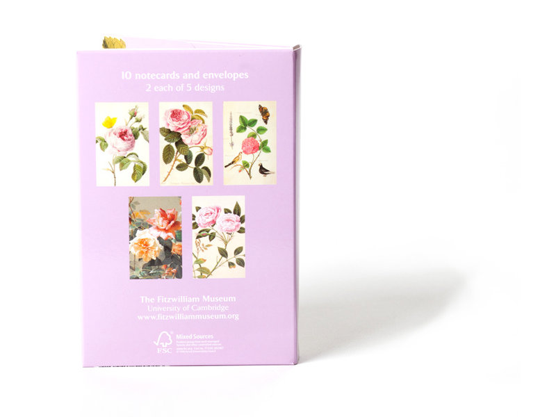 Card Wallet, Notecards Roses