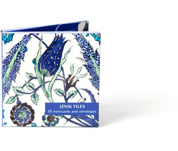 Card Wallet, Notecards- Iznik Tiles ,Fitzwilliam