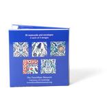 Card Wallet, Notecards- Iznik Tiles ,Fitzwilliam SQ-SN08