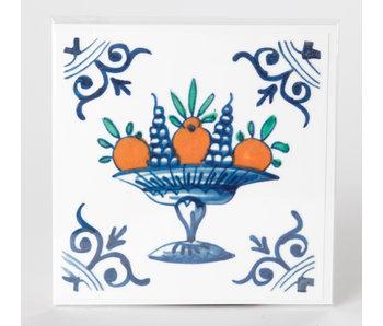 Tegelsticker, Fruit schaal