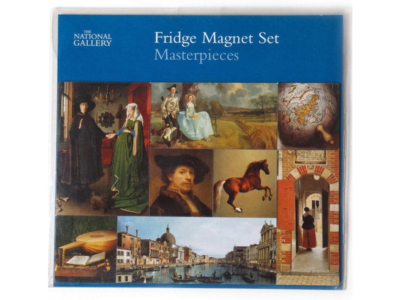 Magneet Set, Just Squares, Meesterwerken