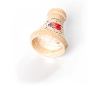 Jouet optique, Oeuil de mouche conique en bois