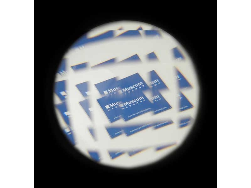 Optische Wackelkante mit fliegendem Auge