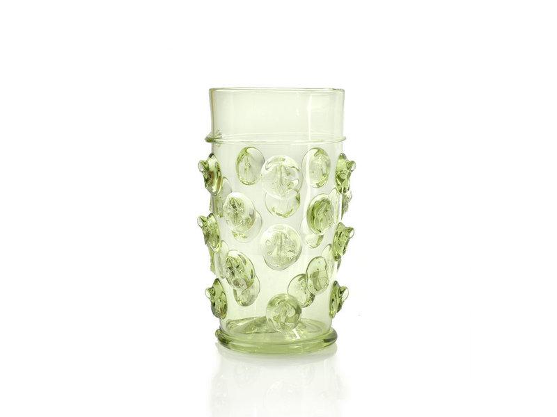 Glas, Koolstronk (recht) 15 cm, groen