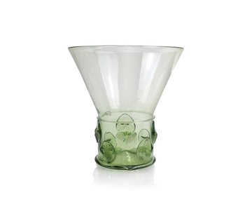 Glass Berkemeier,  17 cm, green