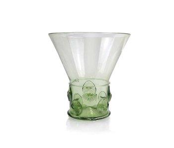 Vidrio Berkemeier,  17 cm, verde