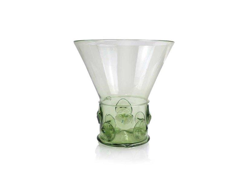 Glass Berkemeier,  17 cm, green