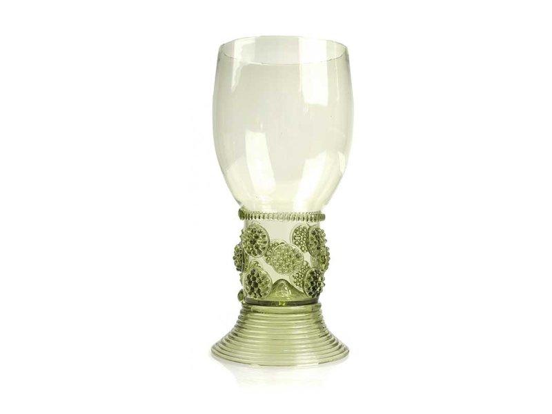 Glas, Roemer, 20 cm, groen