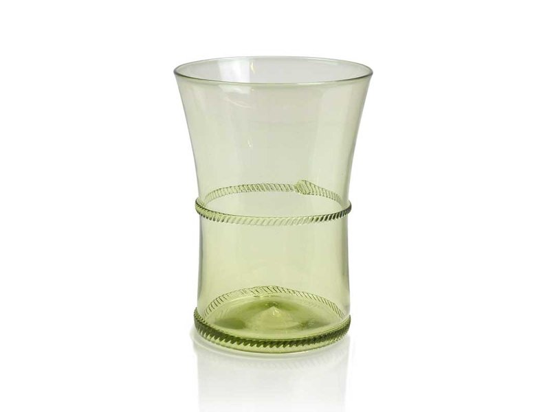 Glas,  Varenglas 9 cm, groen