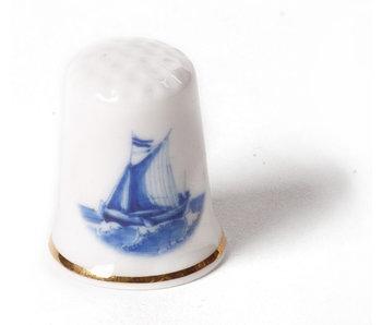 Dé à coudre, Delft Blue ship