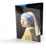 Archiefmap , Meisje met de parel, Vermeer