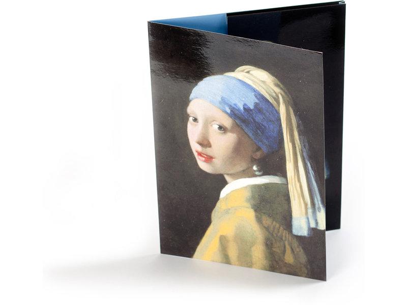Carpeta de archivo, Chica con un arete de perla, Vermeer