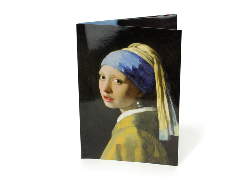 File Folder W, Girl with a Pearl Earring, Vermeer