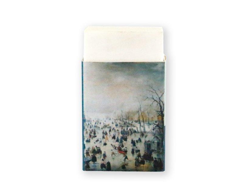 Eraser, Winter landscape, Avercamp