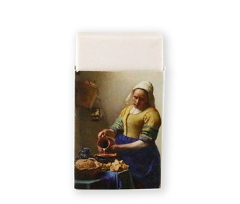 Eraser, The Milk Maid, Vermeer