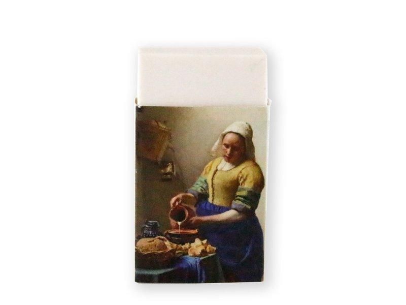 Eraser, The Milk Maid, Vermeer