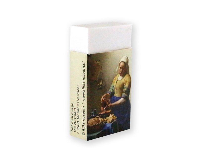 Radiergummi, The Milk Maid, Vermeer