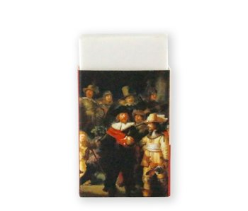 Eraser W, Rembrandt, The Night Watch