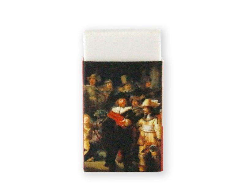 Eraser W, Rembrandt, The Night Watch