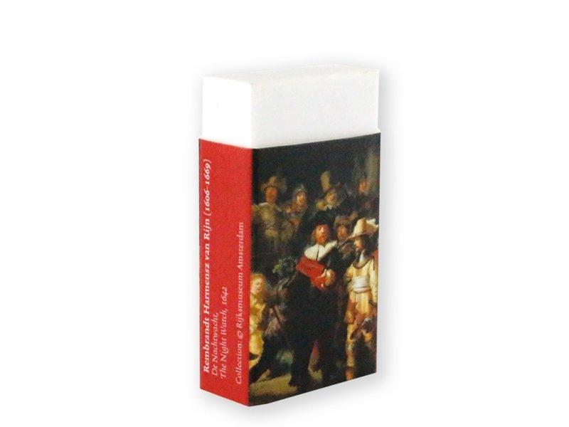 La gomme ,, Rembrandt, La Veille de nuit