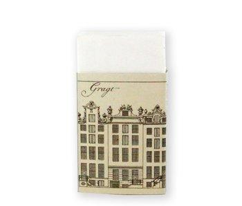 Borrador ,, Casas del canal, Herengracht A'dam, C.P. Jacobszoon