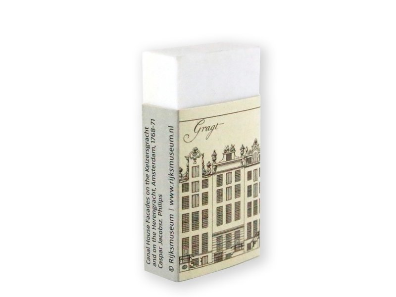 Eraser , Canal houses,Herengracht A'dam, C.P. Jacobszoon
