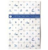 Geschenkpapier, Delfter blaue Fliesen