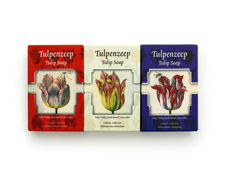 Tulpenseife, Set mit 3 Seifen, Marrel
