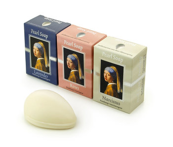 Jabón, juego de 3, Chica con arete de perla, Vermeer