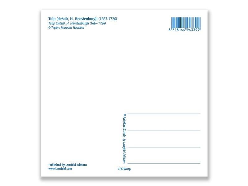 Ansichtkaart, Tulp (detail), Henstenburgh  (Teylers)