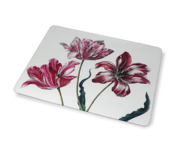 Mouse Pad, Three Tulips, Merian