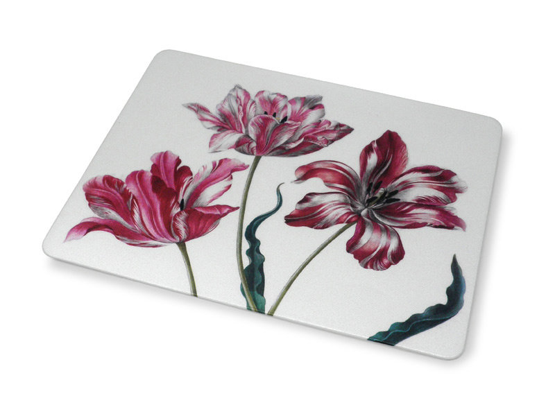Mouse Pad, Three Tulips, Merian