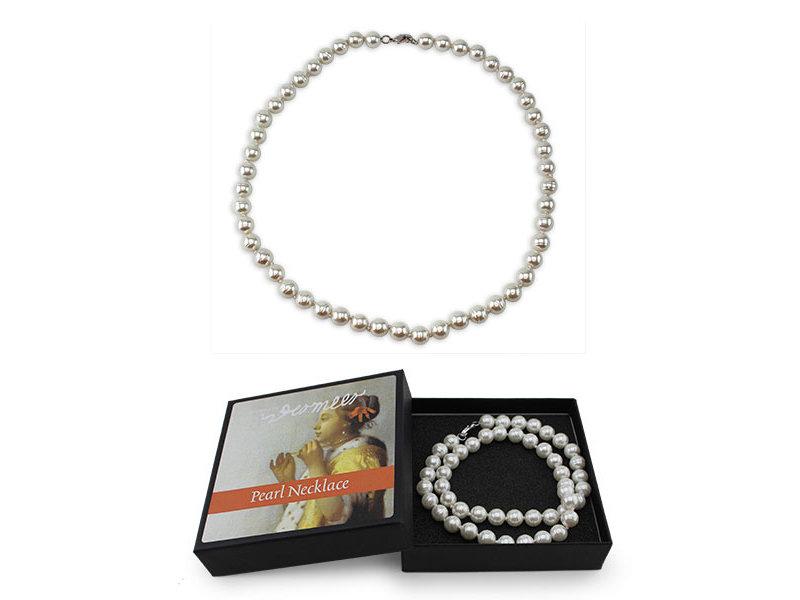 Collier de perles, inspiré de la femme au collier, Johannes Vermeer