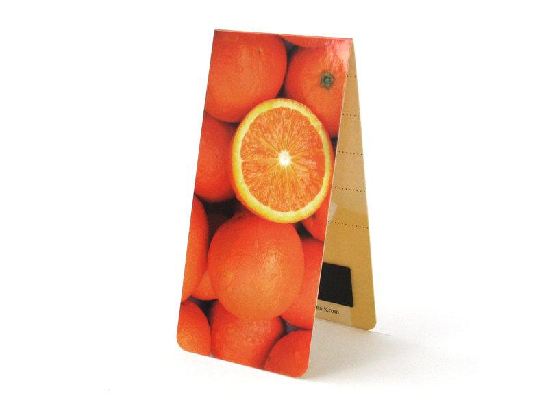 Magnetic Bookmark, Oranges