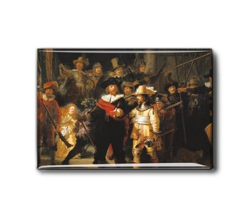 Magnet pour réfrigérateur, La Veille de nuit, Rembrandt