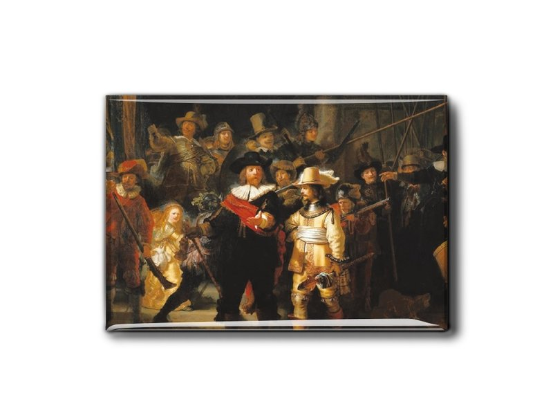 Koelkastmagneet, De Nachtwacht, Rembrandt