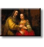 Fridge Magnet, The Jewish Bride, Rembrandt