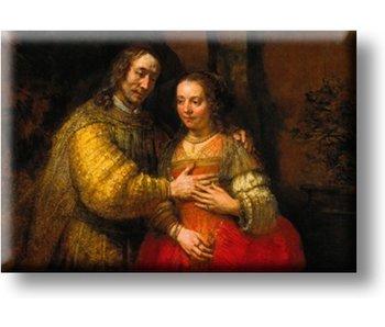 Kühlschrankmagnet, Die jüdische Braut, Rembrandt