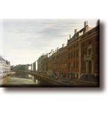 Magnet pour frigo, Le coude du Herengracht, Berckheyde