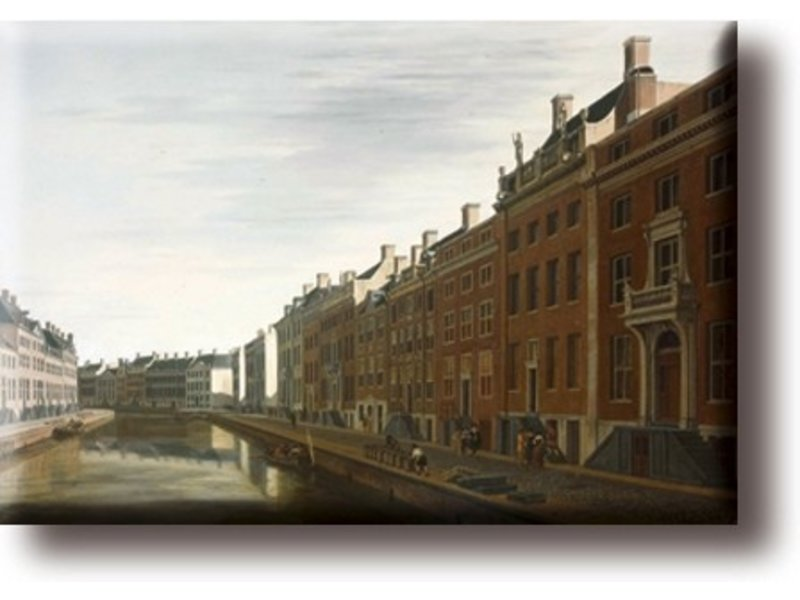 Fridge Magnet, The Bend of the Herengracht, Berckheyde