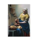 Aimant de réfrigérateur, la laitière, Johannes Vermeer