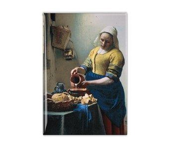 Imán de nevera, la lechera, Vermeer