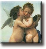 Kühlschrankmagnet, Der erste Kuss, Bouguereau