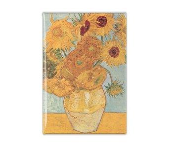 Imán de nevera, girasoles, Van Gogh