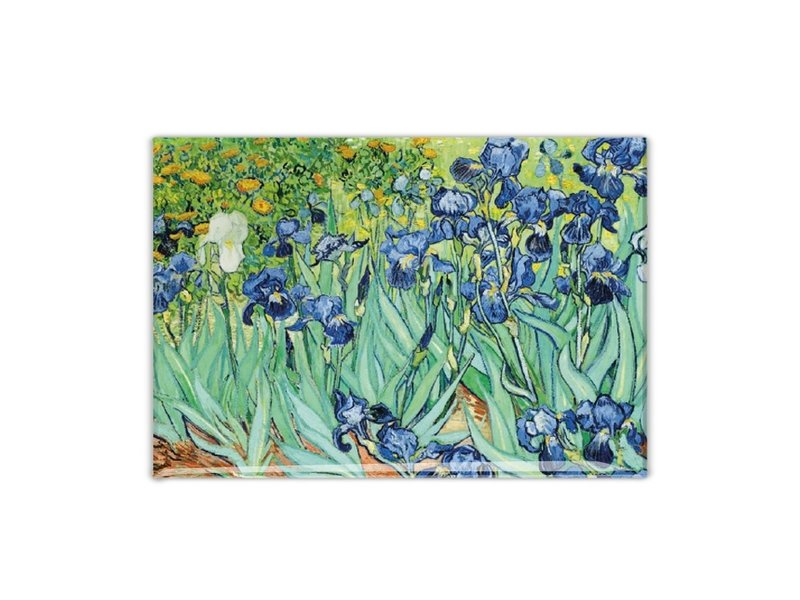 Aimant de réfrigérateur, Iris, Van Gogh