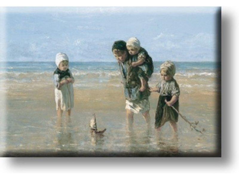 Aimant de réfrigérateur, Enfants de la mer, Israëls