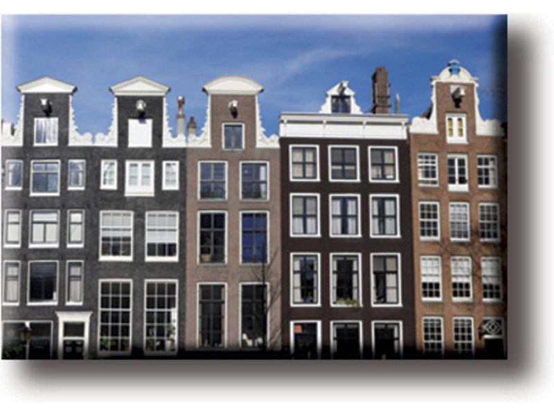 Fridge magnet, Canal houses