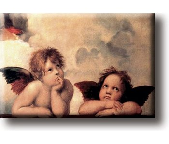 Fridge magnet, Sistine Madonna, Raphael