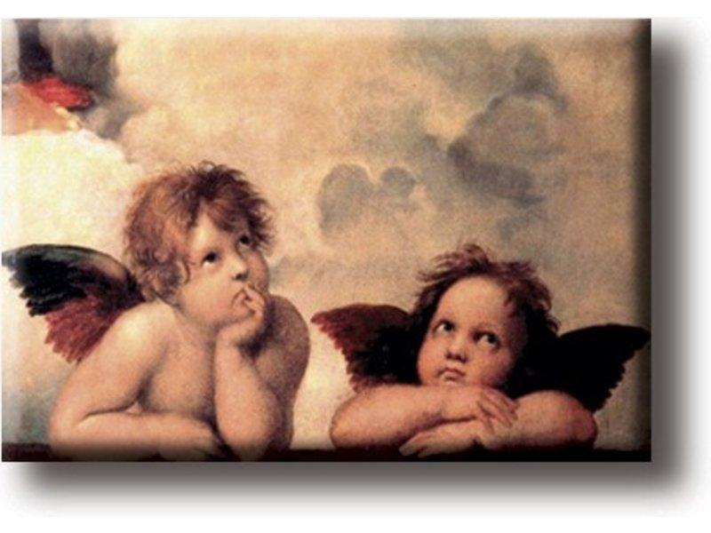 Koelkastmagneet, Sixtijnse Madonna, Rafaël
