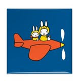 Fridge magnet, Miffy in an airplane